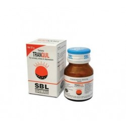 Tranquil Tablets -SBL Homeopatía de calidad mundial- 1 botella de 25gm - cada tableta de 100 mg